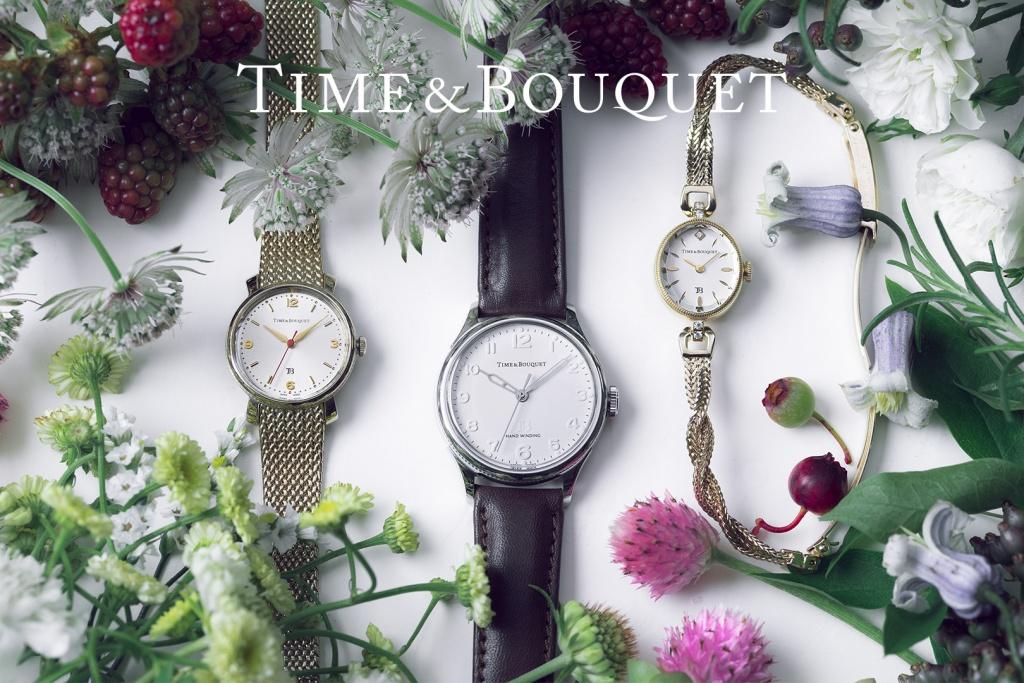 Time&Bouquetのサイトを新設しました